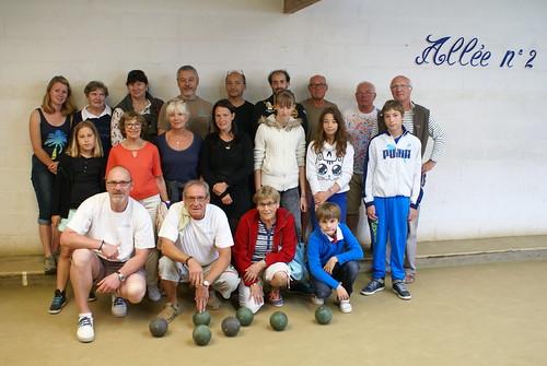 15/07/2015 - Plougasnou : 2ème séance d'initiation gratuite aux boules plombées
