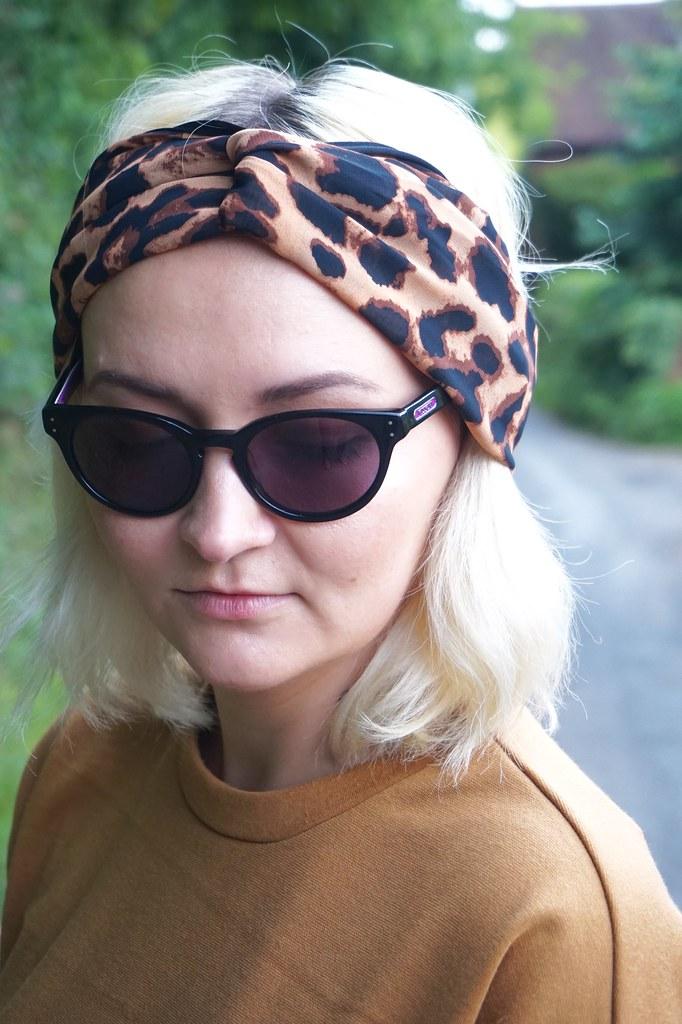 katelouiseblog leopard print headscarf missoni sunglasses