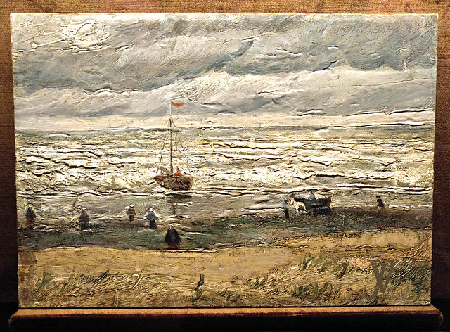 Seascape at Scheveningen- van Gogh