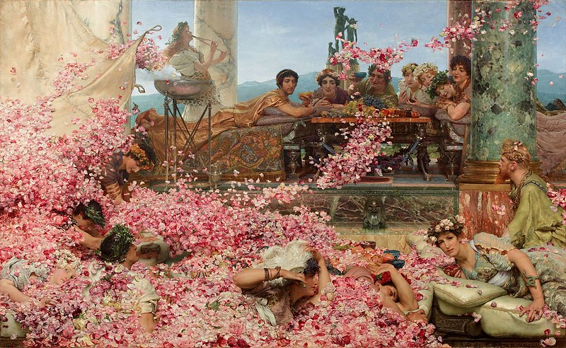 The Roses of Heliogabalus, by Lawrence Alma-Tadema