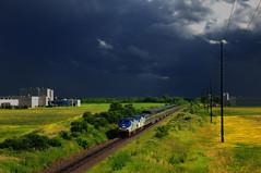 Amtrak Detour During Intense Storm