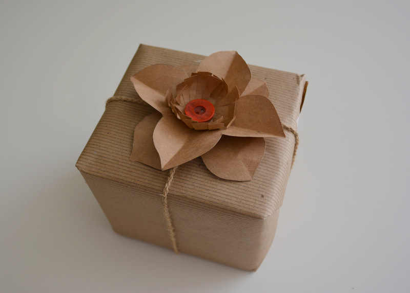 Upcycled Paper Flower -