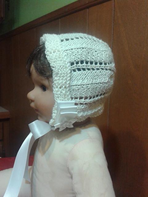 baptism bonnet