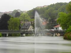 Allan river in Montbéliard