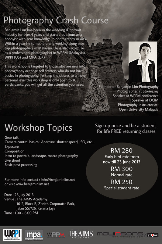 Photography Workshop - Crash Course