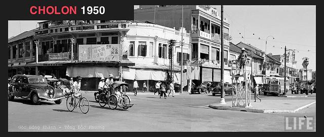 CHOLON 1950 - góc Đồng Khánh-Tổng Đốc Phương