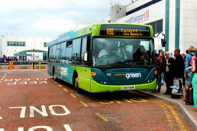 Cardiff Bus 723