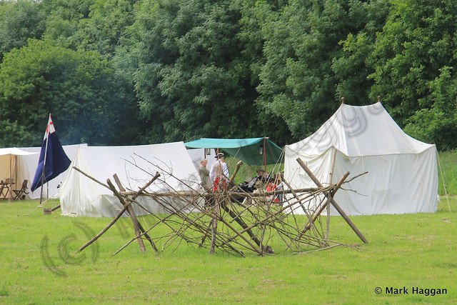 A Historical Re-Enactment at Rosliston Forest