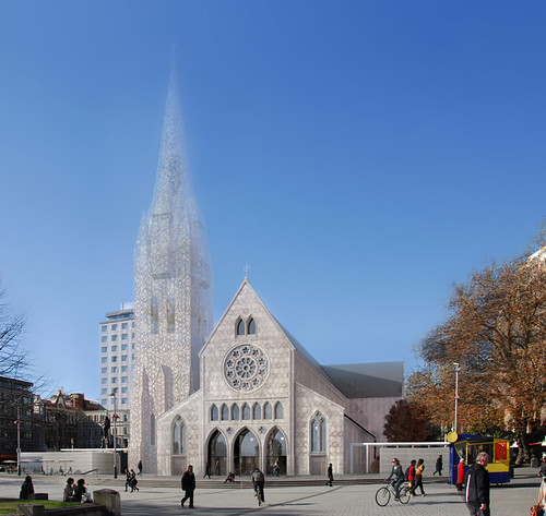 Christchurch Cathedral option 2 exterior