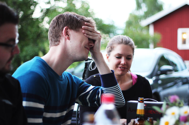 Midsommar 2013: Jesper och Sara
