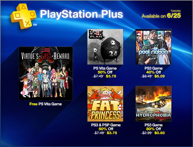 PlayStation Store Update 6-25-2013