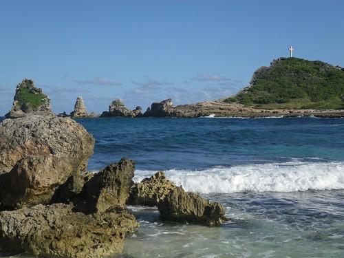mer france eau bleu nuages paysages guadeloupe antilles caraïbes océan champagneardenne pointedeschâteaux