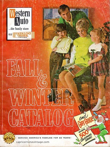 1969/70 fall and winter western auto catalog by CapricornOneVintage