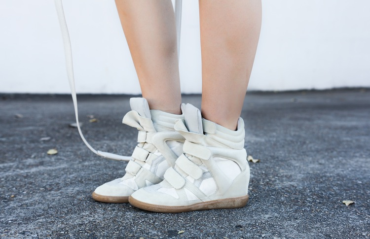 Isabel Marant beige Bekket sneakers Modern Legacy fashion blog Australia  (1 of 1)