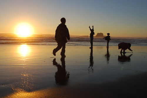 Sunset- Bandon, Oregon