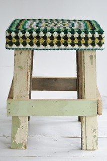 wood & wool stool jacqui