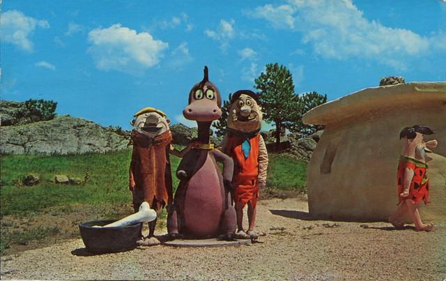 Flintstone's Bedrock City, Custer SD