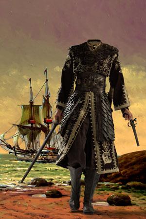 пират с оружием