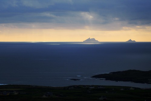 Sceilig Mhichíl, or Skellig Michael, once a traditional destination for marriages, by OlivIreland