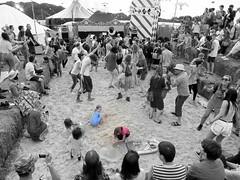 Beach stage at LeeFest 2013