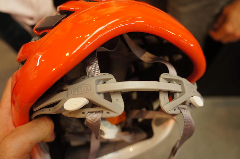 Petzl Meteor Helmet closure