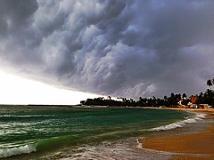 Storm at uwatuna