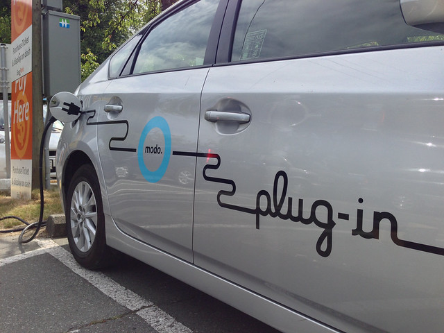 Modo Electric Car Sharing