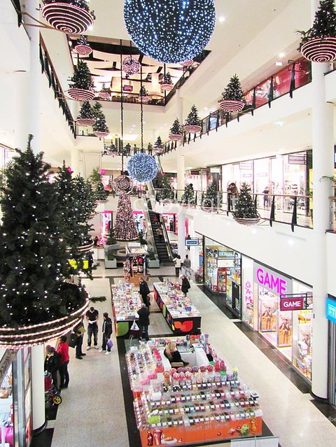 Shoppin center in Via Catarina