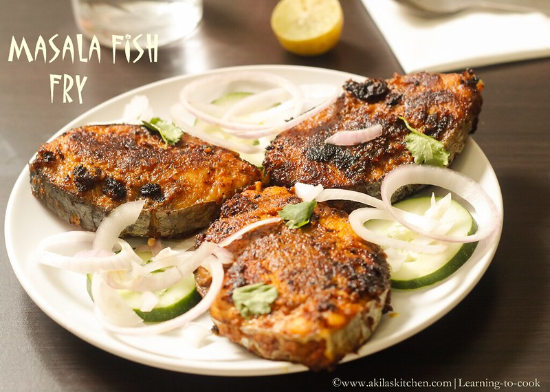Masala fish fry recipe how to make masala fish fry for Sides to bring to a fish fry