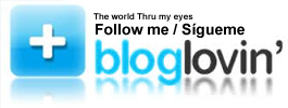 Follow me at Bloglovin'