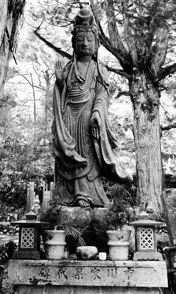Koya-san in black and white 3