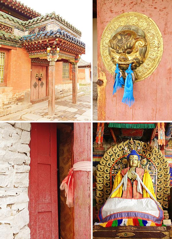 Mongolian temples