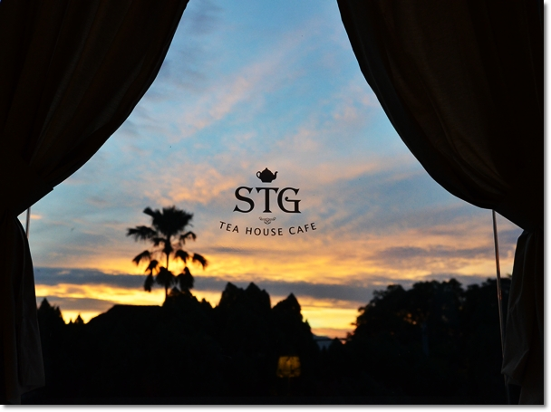STG Tea House Cafe at Dawn