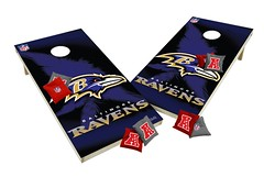 Baltimore Ravens Custom Cornhole Boards XL