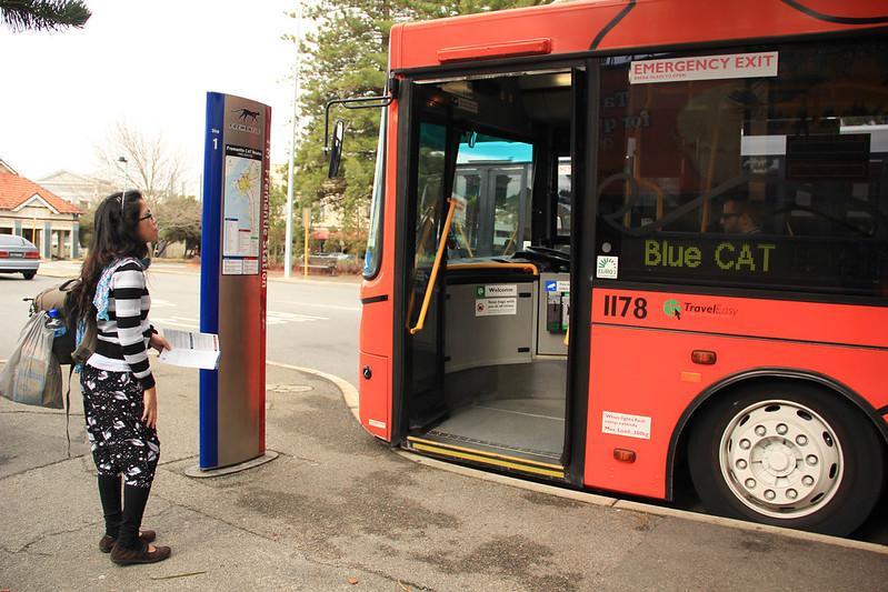 free bus in Freemantle