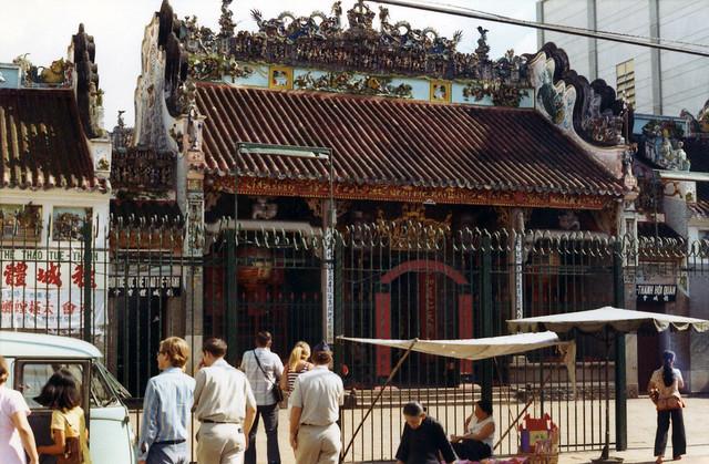 Saigon 1972 - Thien Hau Pagoda