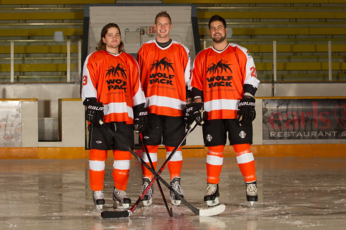 Wolfpack Say Good Bye To Three Veterans In Final Home Weekend Of Bcihl Season Tru Wolfpack