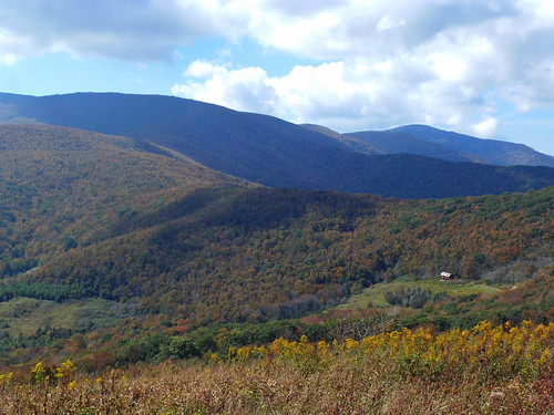 overmountain shelter and mountains 2