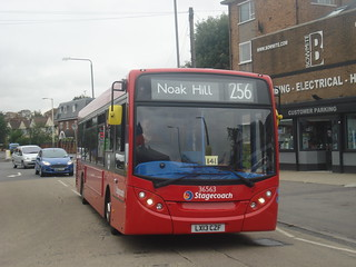 Stagecoach 36563 on Route 256, Emerson Park