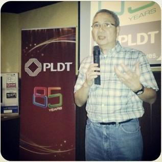 Mr. Ramon Isberto, PLDT Head of Public Affairs