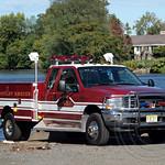 Nutley Fire Department Rescue Truck, 2013 Head of the Passaic Regatta, Passaic River, New Jersey