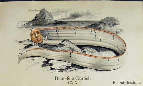 VINTAGE PRINT OF BLANKFEIN OARFISH by WilliamBanzai7/Colonel Flick