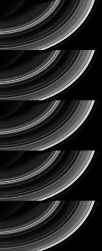 Saturn W00084449 - 53 B ring detail