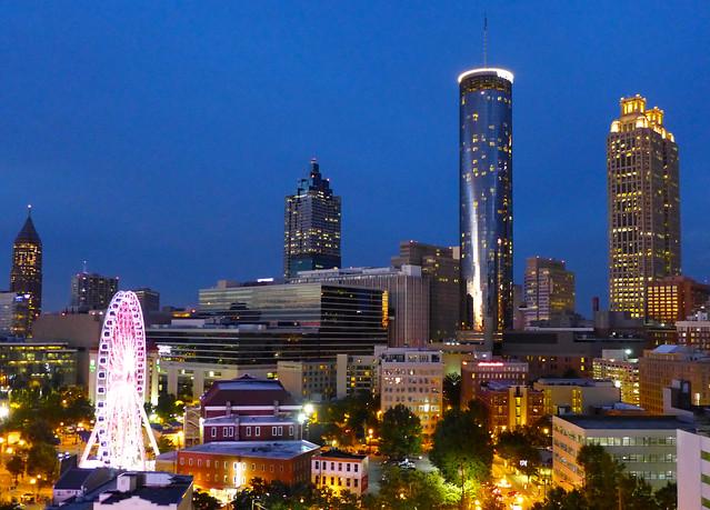 Downtown Atlanta at Dusk-Week 42