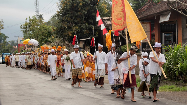 Prayer procession
