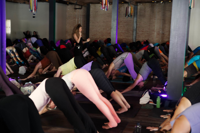 cute & little blog | wanderlust austin yoga festival | seane corne | empower flow