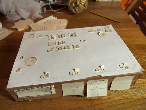 KSP controller paper prototype