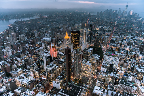 Manhattan Dusk - Explored