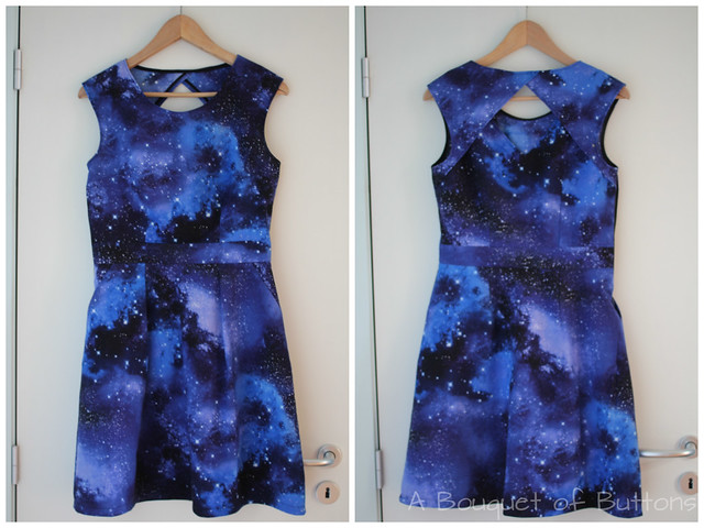 Galaxy, dress, jurk, Deer & Doe, Belladone, Timeless Treasures