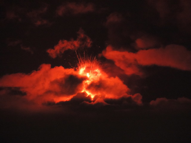 Paroxysm in the clouds